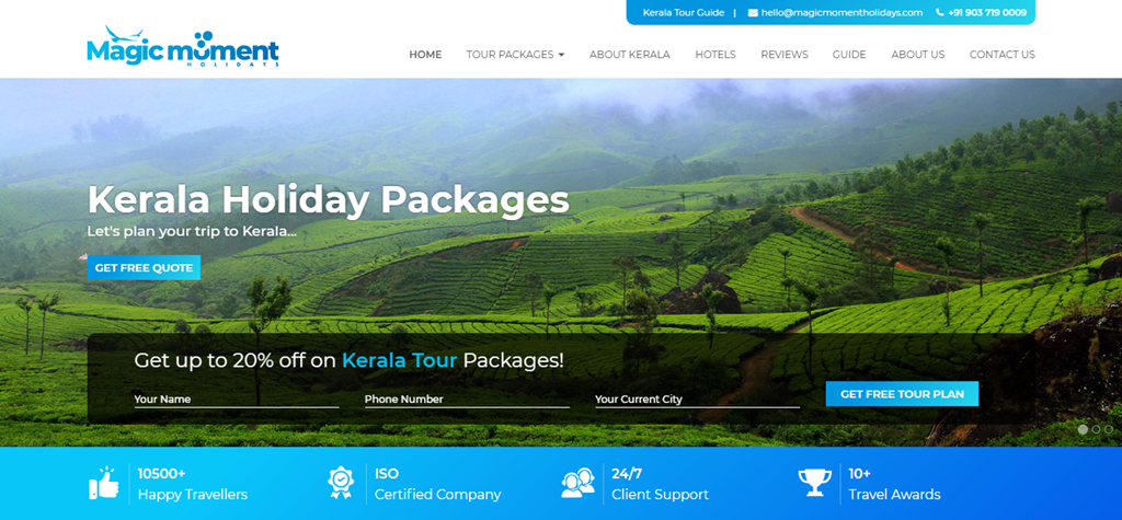Best Tour Operator in Kerala for Kerala Tour - Magic Moment Holidays (Copy)